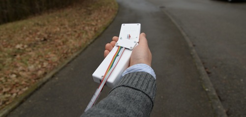 Explorations of Shape-Changing Haptic Interfaces for Blind and Sighted Pedestrian Navigation